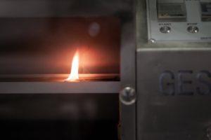 centro polimeri Comportamento al fuoco